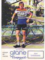 Carte Cyclisme Coureur Cycliste Gitane Jean CHASSANG Lire Description - Cyclisme