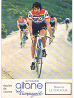 Carte Cyclisme Coureur Cycliste Gitane Maurice LE GUILLOUX - Cyclisme