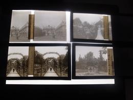Important Lot De 182 Photos Plaques De Verre Stéréoscopiques Anciennes à Exploiter Divers Thèmes - Diapositivas De Vidrio