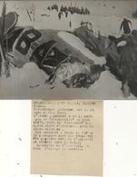 ACCIDENT DU PARIS NICE . 1947 . CARCASSE - Aviation
