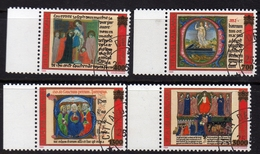 CITTÀ DEL VATICANO VATICAN VATIKAN 1999 VERSO L'ANNO SANTO HOLY YEAR SERIE COMPLETA COMPLETE SET USATA USED OBLITERE' - Used Stamps