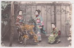 Japon - Femmes Japonaises En Kimono Traditionnel - Geishas - Sin Clasificación