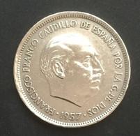 $$ESP1200-Francisco Franco 25 Pesetas Coin - Spain - 1957 - [ 4] 1939-1947 : Gobierno Nacionalista