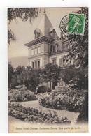 Sierre    Grand Hôtel Chäteau Bellevue. Une Partie Du Jardin 1910 - Andere