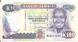 ZAMBIE 100 KWACHA ND1991 UNC P 34 - Zambia