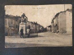 55 - VOID - Rue Jeanne D' ARC - Animée - Carte Abimée Avec Déchirure Au Milieu Mais RARE - Voir Photos - Altri Comuni