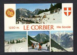 Le Col Du CORBIER (73 Savoie) Station Familiale Hiver- été, Vue Sur Les Cornettes De Bise- Le Mont Chauffé Et Mont Blanc - Andere Gemeenten