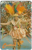 Cayman Isl. - Carnival Woman, 8CCIA, 1994, 30.000ex, Used - Cayman Islands