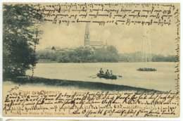Chemnitz 1904 Ansichtskarte Schlossteich - Chemnitz