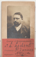Exposition Universelle De Liège 1905 - Carte D' Abonnement Mr. L. Ledent, Fabricant D' Armes - Biglietti D'ingresso