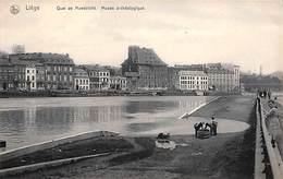 Liège - Quai De Maestricht. Musée Archéologique (animée, Nels) (petit Prix) - Luik
