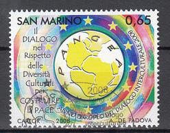 San Marino Mi 2337 Intercultureel Jaar 2008 Gestempeld  Fine Used - San Marino