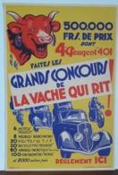 RARE Affiche Originale VACHE QUI RIT - Année 1934 Ou 1935 - Taille 34cm X 50cm - Posters