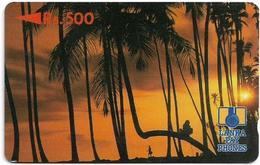 Sri Lanka - Lanka Pay Phones (GPT) - Palmtrees At Sunset (Letter B) - 2SRLD - Used - Sri Lanka (Ceilán)