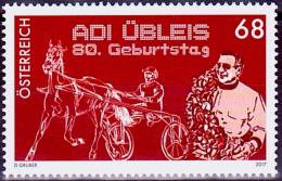 Austria Österreich 2017 80. Geburtstag Von Adi Übleis.  MNH / ** / POSTFRISCH - 1945-.... 2. Republik