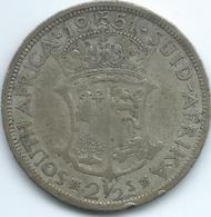 South Africa - 1951 - George VI - ½ Crown - KM39.2 - Zuid-Afrika
