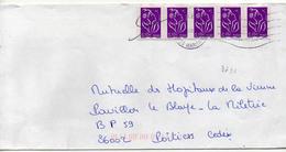 France N° 3732 Y. Et T. Alpes Mmes Nice Flamme Muette Du /07/2006 - 1961-....