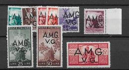 1945 MNH Triest - Venezia Guilia Ex Mi 13-21 - 7. Triest