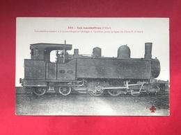 N°2060. LOCOMOTIVE A VAPEUR. SERIE « LES LOCOMOTIVES - CHINE ». LOCOMOTIVE TERNDER A 6 ROUES ACCOUPLEES… - Trains