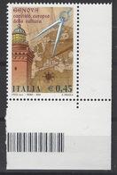 ITALIA GENOVA 2004 CAPITALE EUROPEA DELLA CULTURA MNH/** - 6. 1946-.. Repubblica