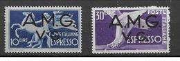 1945 MNH Triest - Venezia Guilia Mi 22-23 - 7. Triest