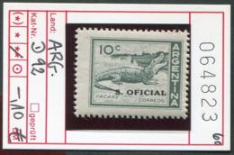 Argentinien - Argentina - Michel Dienst / Service / Oficial 92 - ** Mnh Neuf Postfris - Reptiles - Nuovi