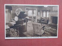 Piano In Calvin Coolidge  Living Room  Massachusetts > Northampton>       Ref 4032 - Northampton