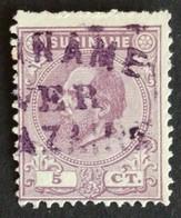Suriname - Nr. 5C (gestempeld/used) - Surinam ... - 1975