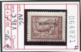 Argentinien - Argentina - Michel Dienst / Service / Oficial 98x - ** Mnh Neuf Postfris - Lama - Nuovi