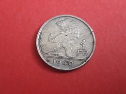 1fr 1940 - 1934-1945: Leopold III.