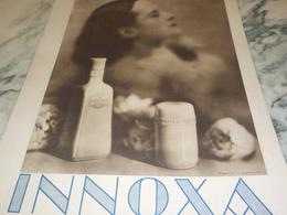 ANCIENNE PUBLICITE  BEAUTE  LAIT INNOXA  1931 - Perfumes & Belleza