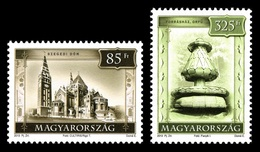Hungary 2013 Mih. 5631/32 Tourism. Szeged Cathedral And Orfu Springhouse MNH ** - Nuevos