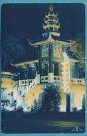 Exposition Coloniale Internationale De Paris 1931 - Section De L'Indochine - Pavillon De La Presse - Vue De Nuit - Expositions