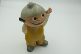 Vintage FIGURE : POVO Goebel German Cartoon Mainzelmännchen RaRe - 1960-70's - RaRe  - Figuur - Vinyl - Rubber - Figurines