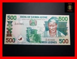 SIERRA LEONE 500 Leones 1.3.2003 P. 23 D  UNC - Sierra Leone