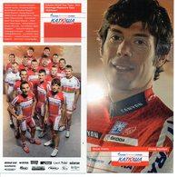 Cartes Postales Cyclisme Team  Katoucha  2012   Complet - Radsport