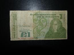 Billet 1 Pound Irlande 1988 - Irlanda