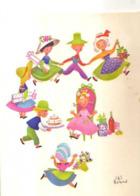 J Et S BOLAND, Enfants Invites A Un Anniversaire, Carnet - Autres Illustrateurs