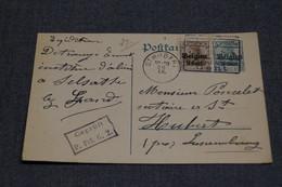 Très Bel Envoi Avec Oblitération Militaire Allemande,1917,oblitération De Saint-Hubert,belle Carte Courrier  Collection - WW I