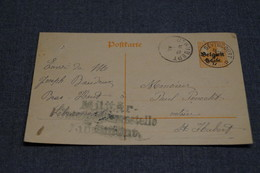 Très Bel Envoi Avec Oblitération Militaire Allemande,1917,oblitération Seviscourt Et Saint-Hubert,belle Carte Courrier - Guerre 14-18