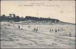 CPA Rotheneuf La Plage Du Val à L'Heure Du Bain, Non Circulé - Rotheneuf