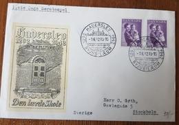 Denmark Cover 2 Queens 1942 - Non Classés