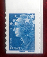 Adhesif N°221  Marianne De Beaujard  Sans Numéro Au Dos - France