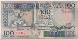 SOMALIA P. 34b 50 S 1987 VF - Somalie