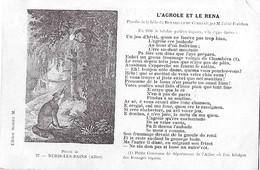 ALLIER - NERIS Les BAINS - L'AGROLE Et Le RENA - Parodie Renard Corbeau - Abbé Forichon - Patois - Neris Les Bains