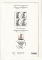 BRD  1375 Mit ESST Auf Sonderblatt Mit Schwarzdruck Im 4erBlock, Sehenswürdigkeiten Schleswiger Dom 1988 - Briefe U. Dokumente