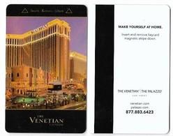 The Venetian Casino & Hotel, Las Vegas, Used Magnetic Hotel Room Key Card, # Venet-76 - Cartas De Hotels