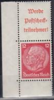 DR S 203, Postfrisch **, Hindenburg 1940/41 - Se-Tenant