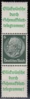 DR S 208.1, Postfrisch **, Hindenburg 1940/41 - Se-Tenant