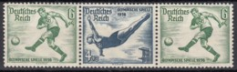DR W 106, Postfrisch *, Olympische Spiele 1936 - Se-Tenant